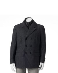 Marc Anthony Herringbone Peacoat