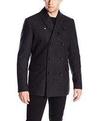Ben Sherman Shawl Collar Pea Coat