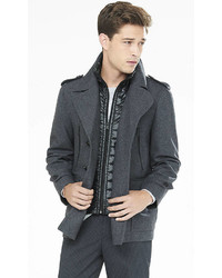 Wool Blend System Peacoat