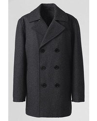 Lands' End Wool Pea Coat