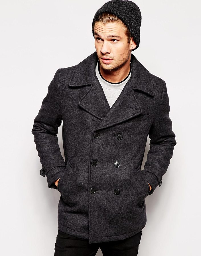 Selected Wool Pea Coat | Where to buy & how to wear