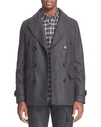 Wool peacoat medium 668633