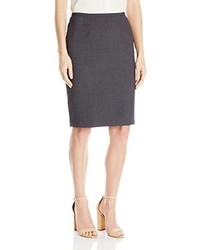 Calvin Klein Lux Solid Pencil Skirt