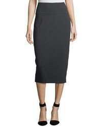 Eileen Fisher Cozy Stretch Jersey Midi Pencil Skirt