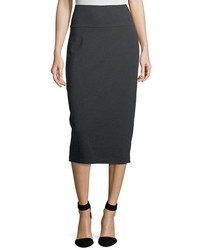 Eileen Fisher Cozy Stretch Jersey Midi Pencil Skirt Petite