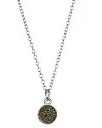 Ettinger UK Dara Ettinger Sara Charcoal Pendant Necklace