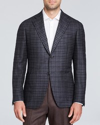 Canali Check Sport Coat Classic Fit