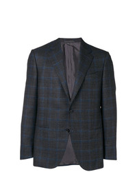 Caruso Check Two Button Blazer