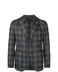 Tagliatore Checked Print Jacket