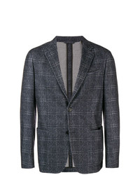 Ermenegildo Zegna Checked Printed Jacket