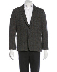 MAISON KITSUNÉ Maison Kitsun Plaid Wool Blazer