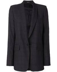 Maison Margiela Plaid Fitted Blazer