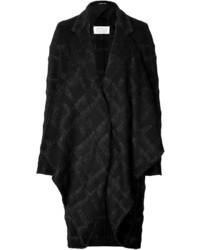 Maison Margiela Maison Margiela Wool Mohair Plaid Coat