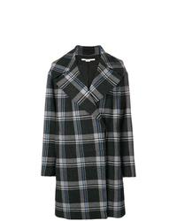 Stella McCartney Plaid Cocoon Coat