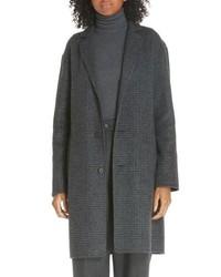 Polo Ralph Lauren Plaid Wool Blend Coat