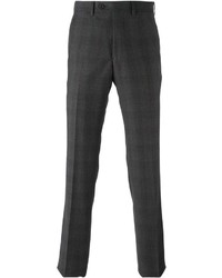Armani Collezioni Checked Tailored Trousers
