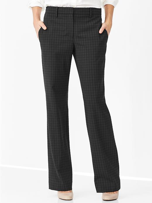 478a501f $69, Gap Checkered Perfect Trouser Pants