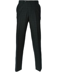 Ermenegildo Zegna Checked Tailored Trousers