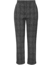 Topshop Y Checked Peg Trousers
