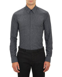 Fendi Abstract Glen Plaid Shirt