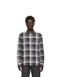 Rag and Bone Black Check Fit 2 Tomlin Shirt