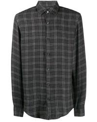 BOSS HUGO BOSS Check Button Front Shirt