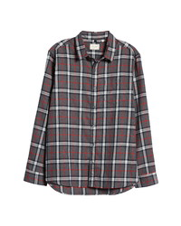 7 Diamonds Juniper Plaid Button Up Shirt