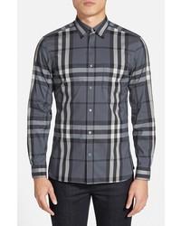 Nelson check sport shirt medium 232420