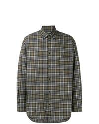 Balenciaga Plaid Shirt