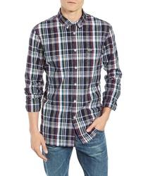 Lacoste Slim Fit Plaid Sport Shirt