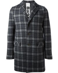 Bark Checked Overcoat
