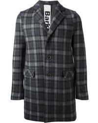 Checked overcoat medium 136191