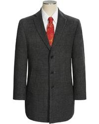 DKNY Denn Wool Blend Overcoat