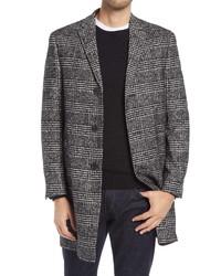 Nordstrom Men's Shop Fit Plaid Overcoat