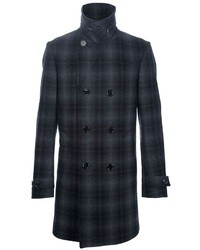 Paul Smith Ps Double Breasted Coat