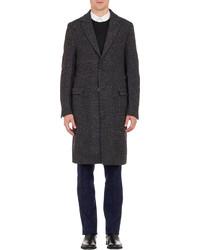 Fendi Plaid Overcoat