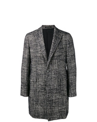 Tagliatore Single Breasted Check Coat