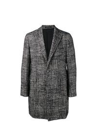 Tagliatore Single Breasted Check Coat