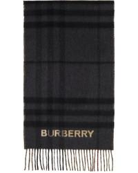 Burberry Cashmere Contrast Check Scarf