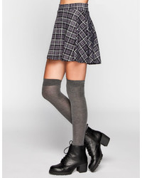 Plaid ponte skater skirt medium 150591