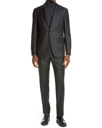 Ermenegildo Zegna Milano Shadow Plaid Suit