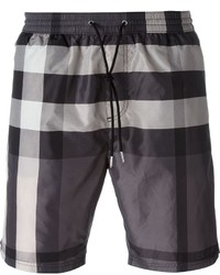 Burberry Brit Checked Swim Shorts