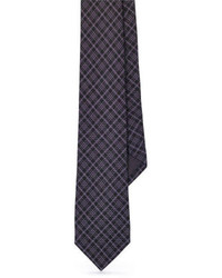 Charcoal Plaid Tie