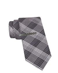 JF J.Ferrar Jf J Ferrar Plaid Slim Tie