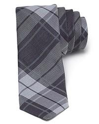 John Varvatos Usa Faded Plaid Skinny Tie