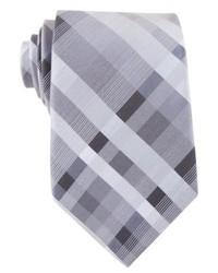 Perry Ellis Sardinia Plaid Slim Tie