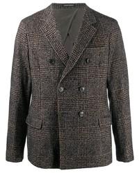 Emporio Armani Tartan Check Blazer Jacket