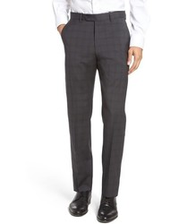 John w nordstrom flat front plaid wool trousers medium 962917