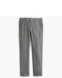 Ludlow suit pant in italian glen plaid wool medium 821988