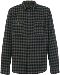 Long sleeved plaid shirt medium 5274960